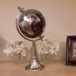 Decorative World Globe Map